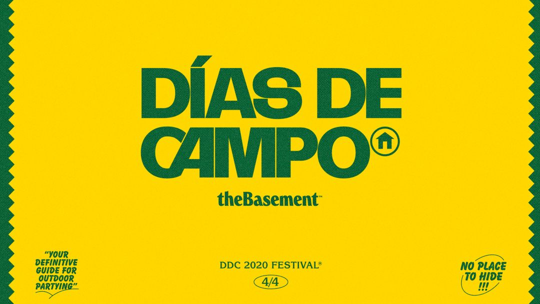 Cartel del evento Festival Días de Campo 2021