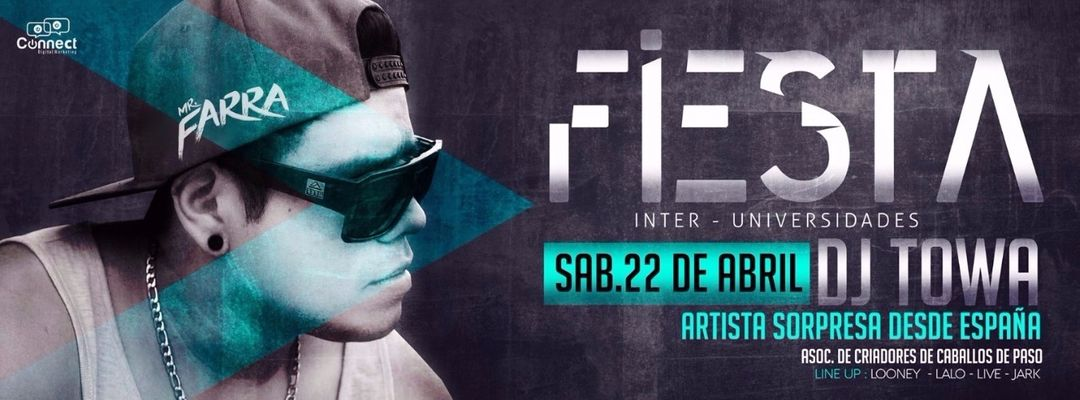 Fiesta Inter Universidades 2017 // Caballos de Paso-Eventplakat