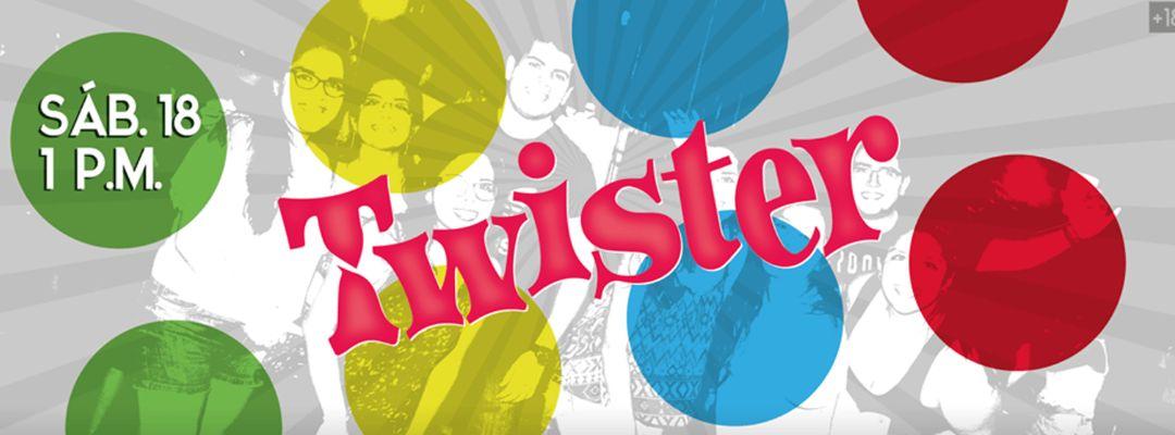 Fiesta  Twister-Eventplakat