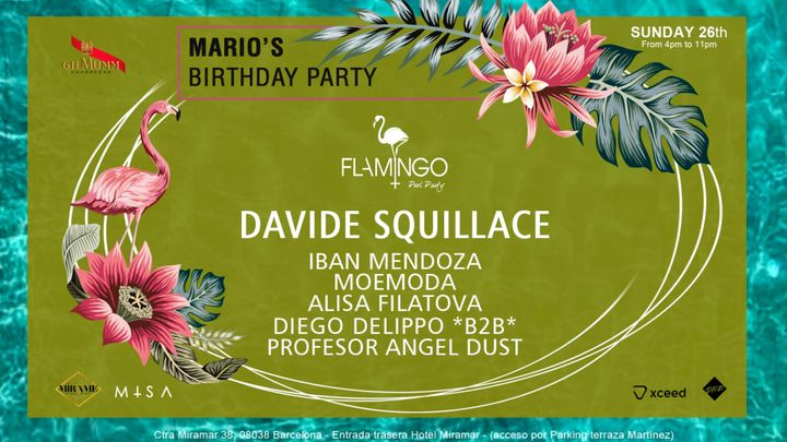 Cover for event: Flamingo Pool Party - SUNDAY 26th SEPTEMBER - Hotel Miramar - Powered by M+SA