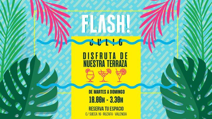 Cover for event: Flash - domingo 05 julio