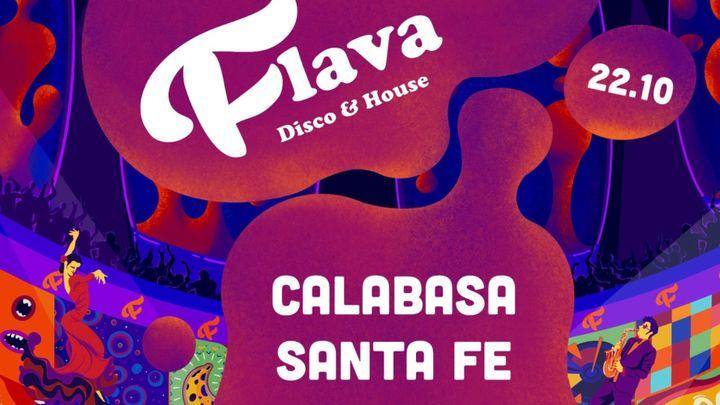 Cover for event: Flava - Disco & House