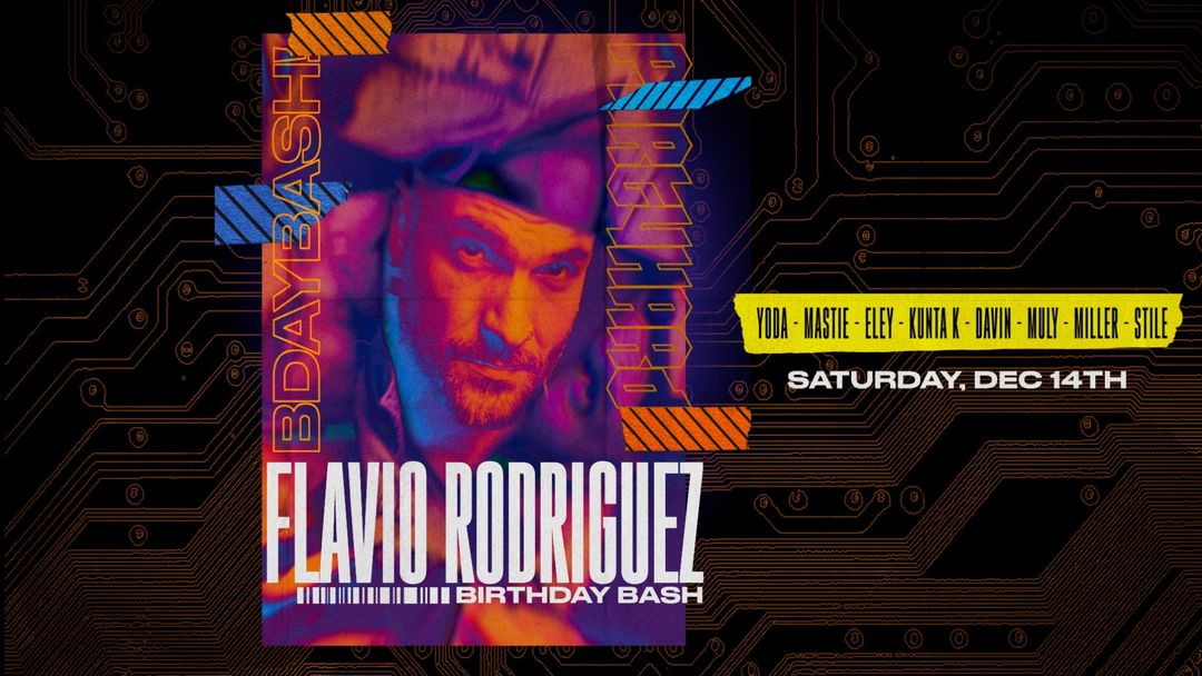 Flavio Rodriguez - Bday Party event cover