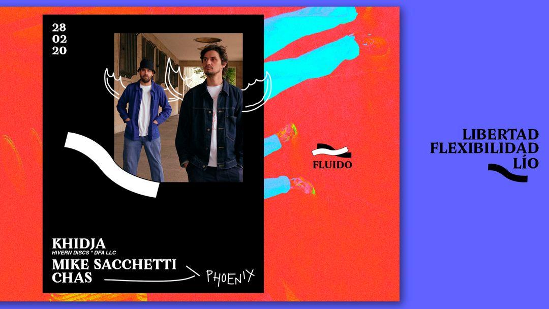 Fluido · Khidja + Phoenix event cover