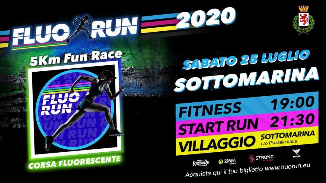 Copertina evento Fluo Run Chioggia-Sottomarina