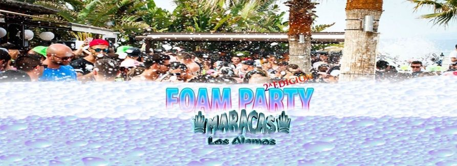 Copertina evento FOAM PARTY