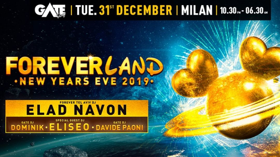 Copertina evento FOREVER TEL AVIV - New Year Eve Party