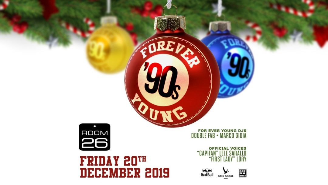 Forever Young Christmas Edition-Eventplakat