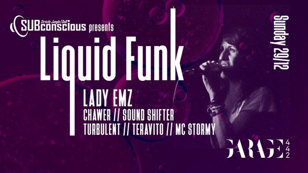 Cartel del evento FREE JUNGLE PARTY w/ SUBconscious LIQUID FUNK