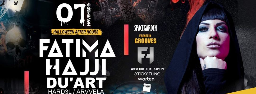 Frenetik Grooves Halloween After Party With Fatima Hajji & Du´art event cover