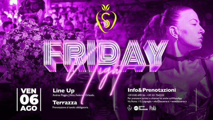 Cover for event: Friday Night - 06/08 La Suerte