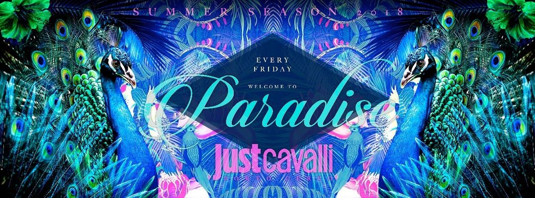 Cartel del evento FRIDAY NIGHT - PARADISE