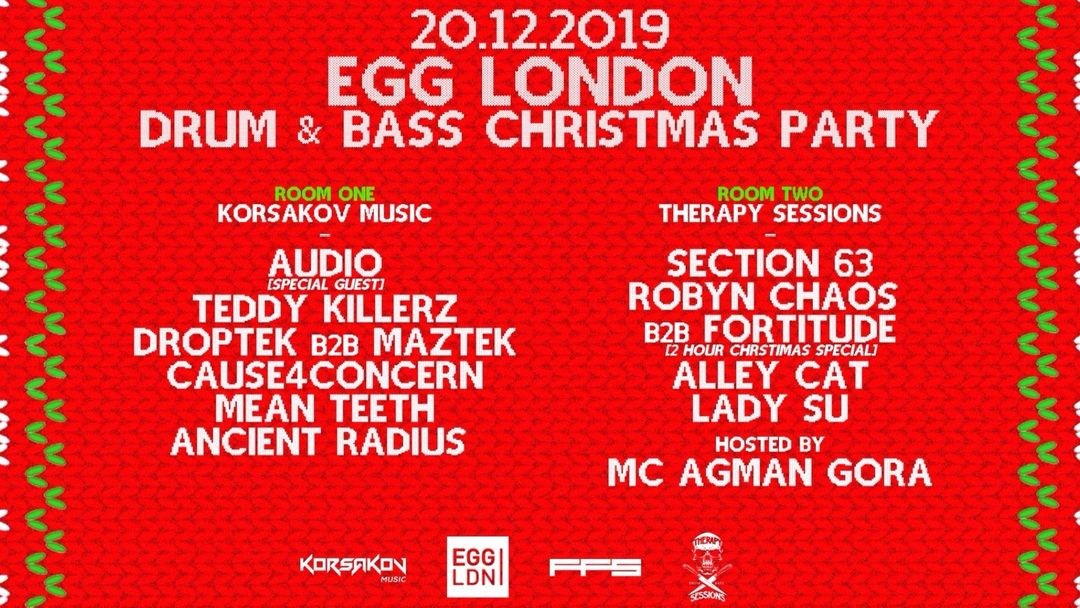 Copertina evento FRIDAYS AT EGG: KORSAKOV MUSIC / AUDIO, TEDDY KILLERZ, DROPTEK, MAZTEK + MORE