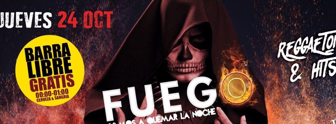 FUEGO  @ JOY ESLAVA ( con Barra libre ) event cover