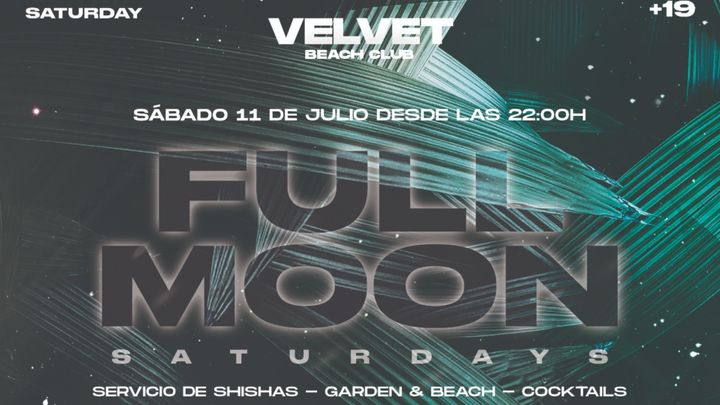 Cover for event: FULL MOON Sábado 11 de julio