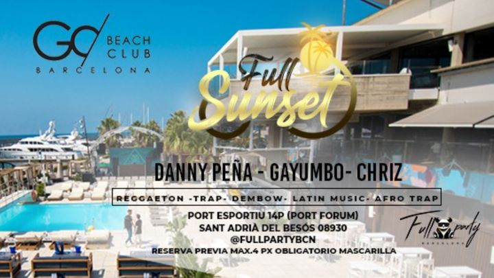 Cover for event: Full Sunset - Every Sunday Afternoon