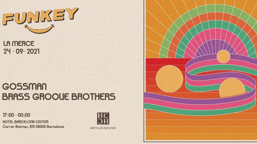 FUNKEY Rooftop La Merce event cover