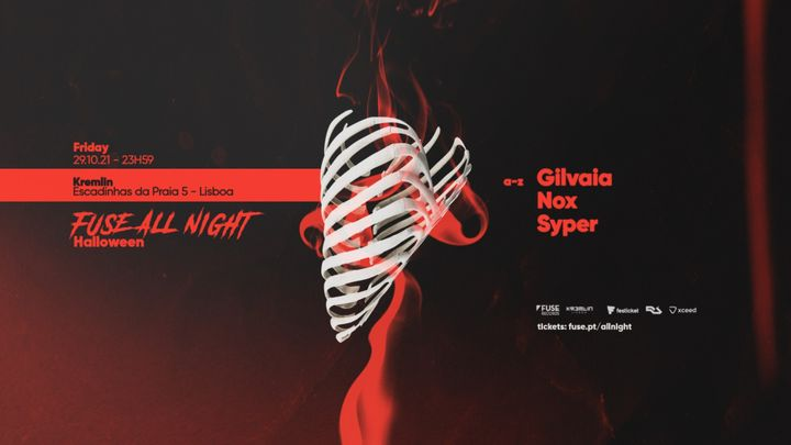 Cover for event: Fuse All Night: Halloween 29.10.21