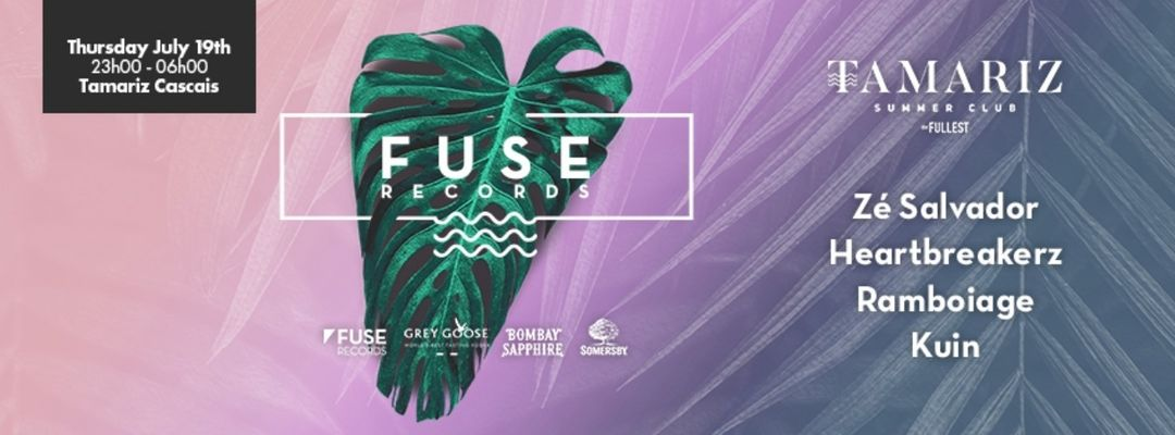 Cartel del evento Fuse Records & Tamariz: Zé Salvador + Heartbreakerz