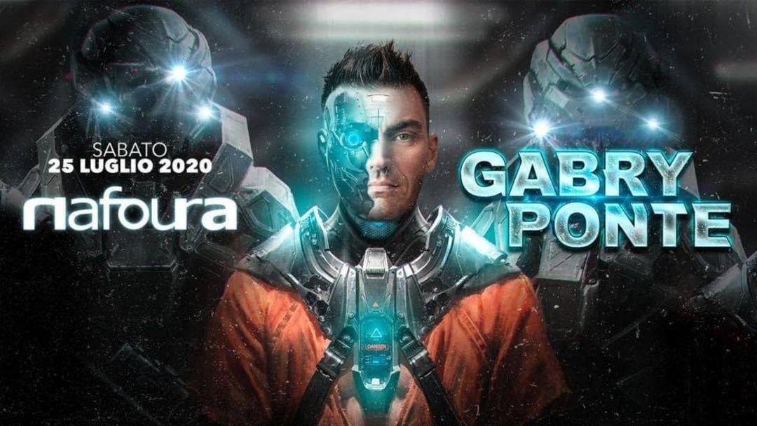 Gabry Ponte event cover