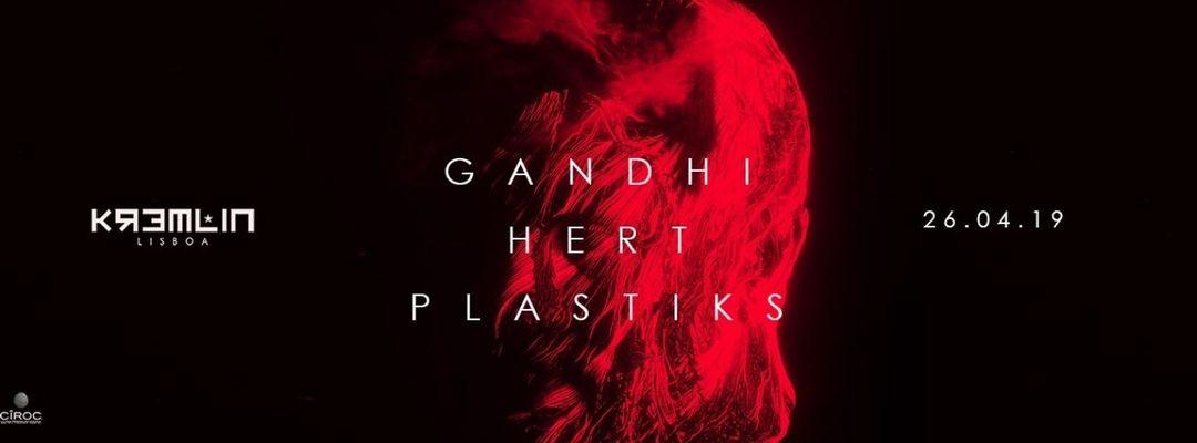 Capa do evento Gandhi, Hert & Plastiks