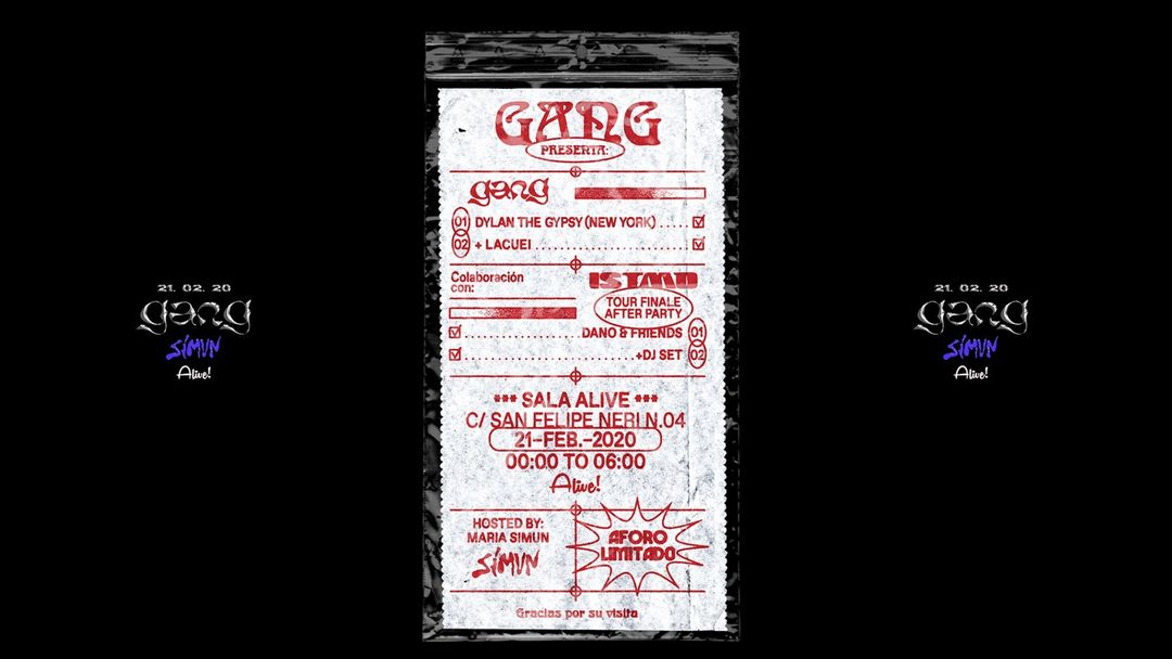 Capa do evento Gang Urban Session 21.02