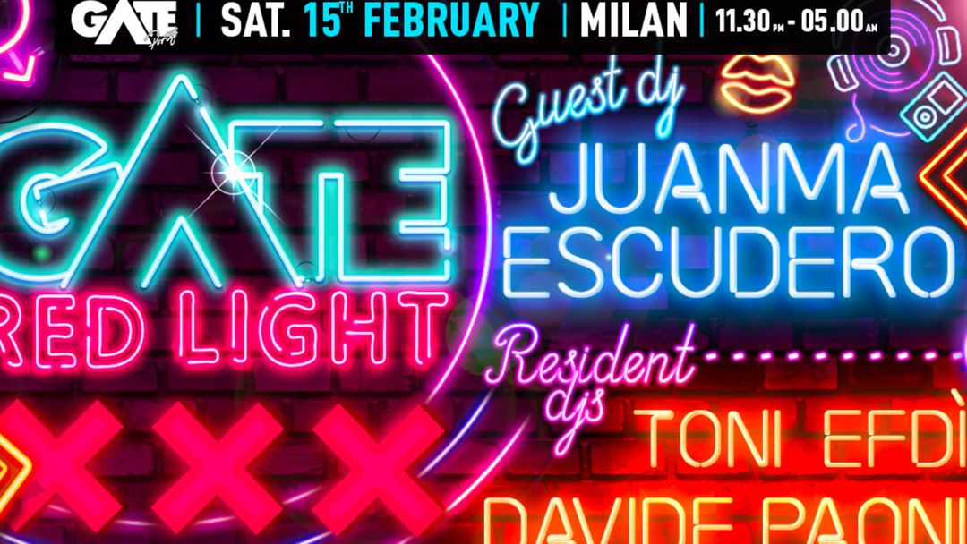 GATE - Red Light District event cover