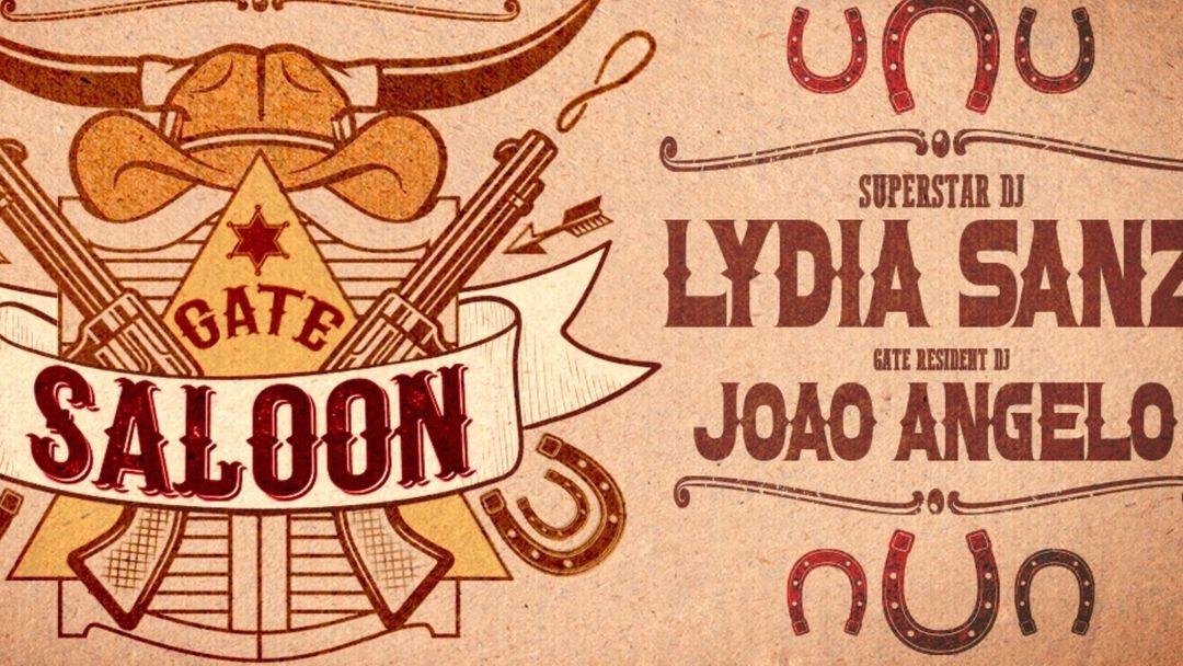 GATE SALOON - Superstar Dj LYDIA SANZ event cover