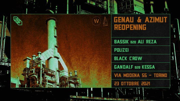 Cover for event: GENAU & AZIMUT Reopening