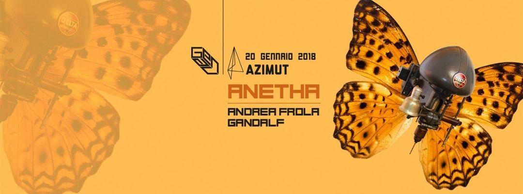 GENAU pres. ANETHA (Blocaus - RYC / FR) at Azimut event cover