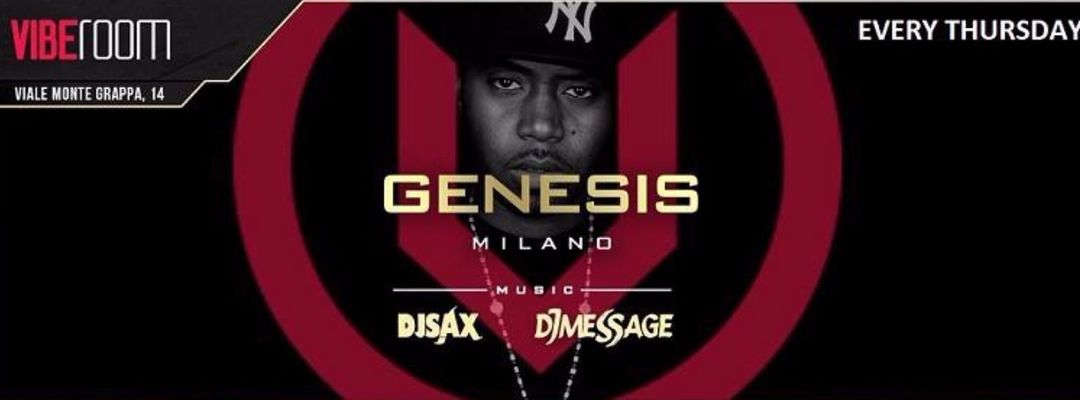 Copertina evento Genesis | Hip Hop Music | Every Thusday