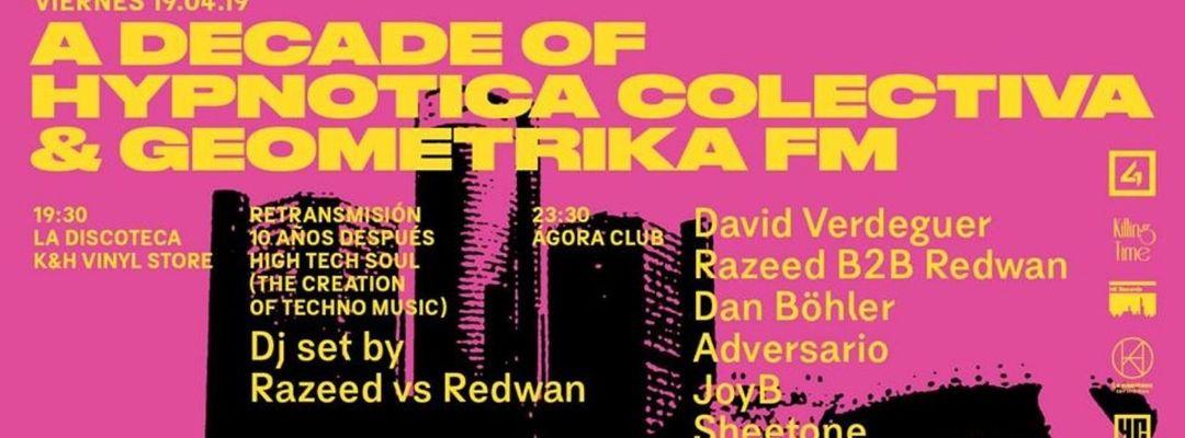 Capa do evento Geométrika FM + Hypnotica Colectiva Showcase