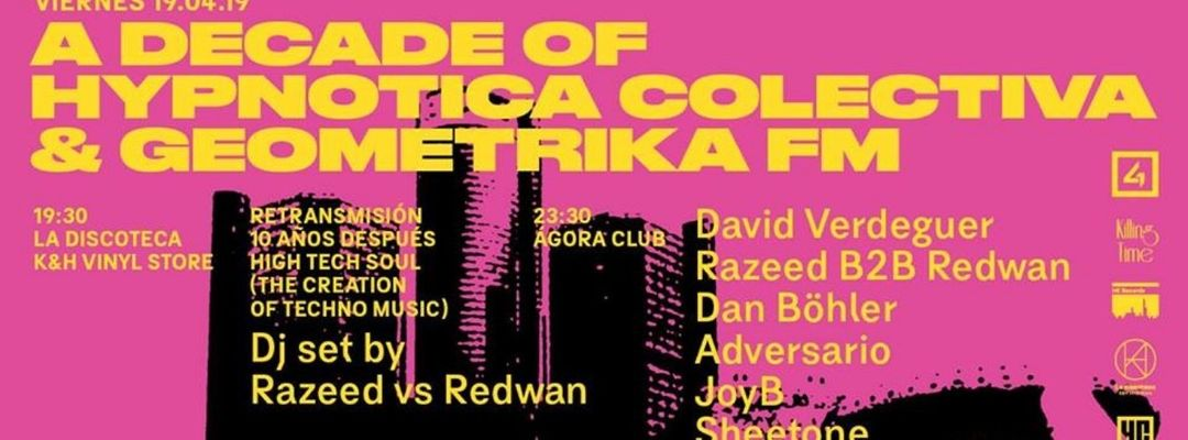 Geométrika FM + Hypnotica Colectiva Showcase event cover