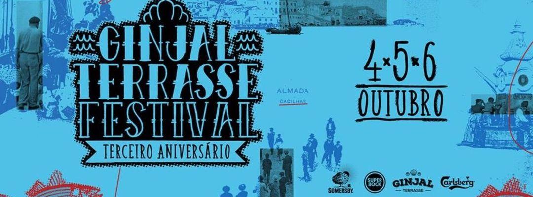 Cartel del evento Ginjal Terrasse Festival ~ 3º Aniversário
