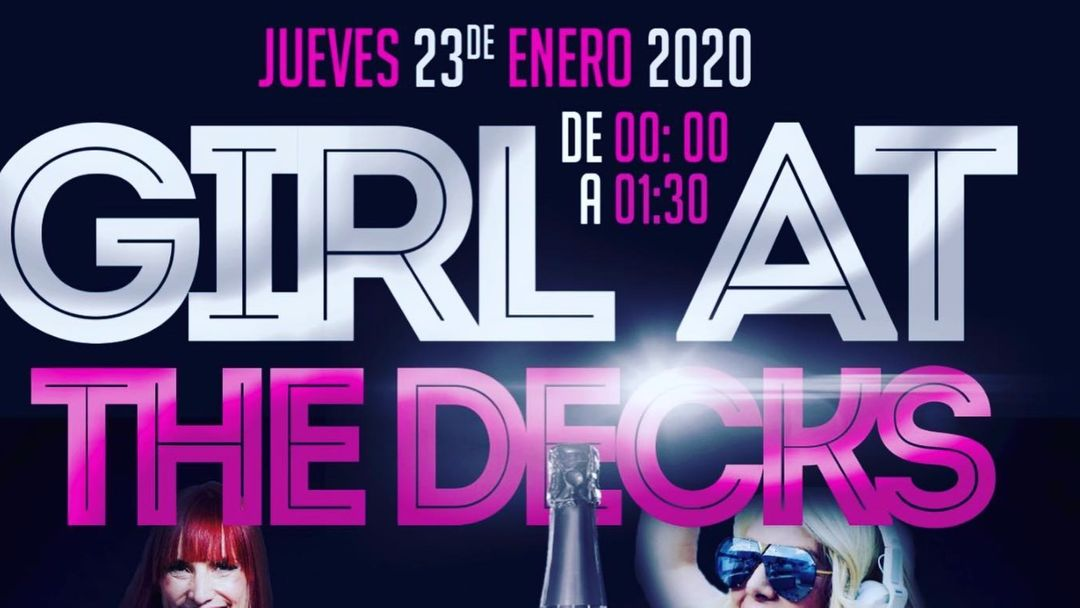 Cartel del evento GIRLS AT THE DECKS