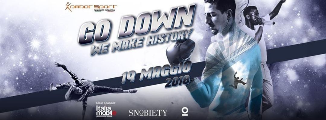 Go Down - We Make History event cover