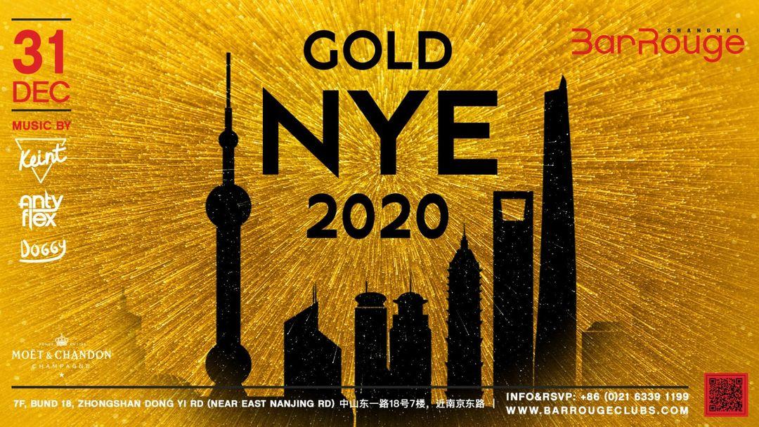 Capa do evento Gold New Year's Eve 2020
