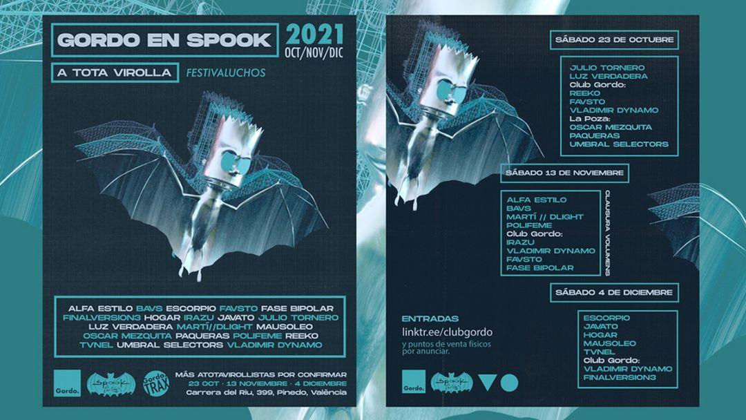 Gordo en Spook con Reeko - Julio Tornero - Luz Verdadera event cover