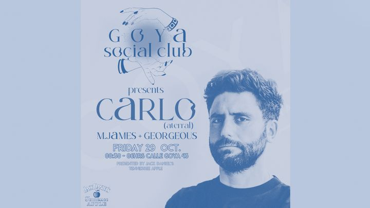 Cover for event: Goya Social Club with Carlo
