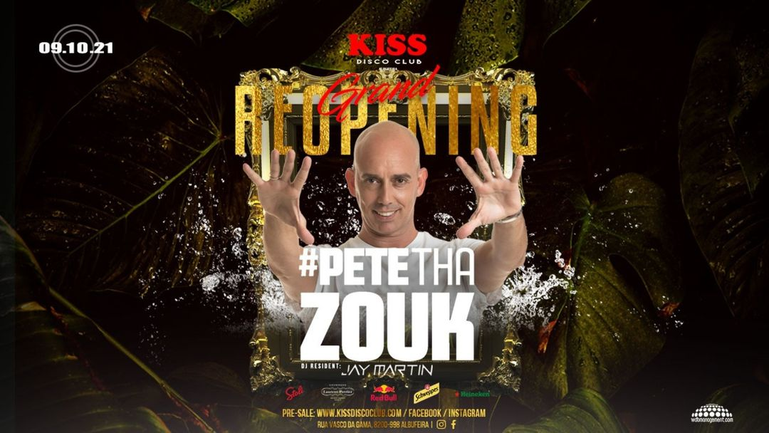 Grand Reopening Party #Pete Tha Zouk event cover