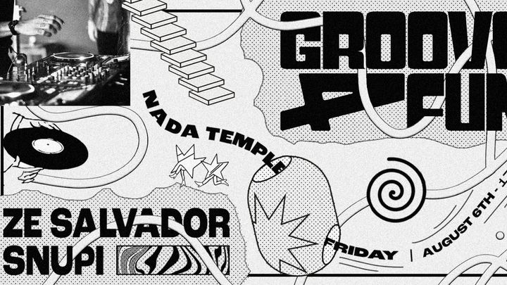 Cover for event: groove4fun @ Nada Temple w/ Zé Salvador