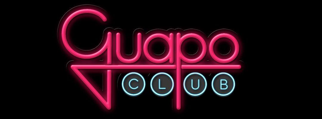 GUAPO CLUB-Eventplakat