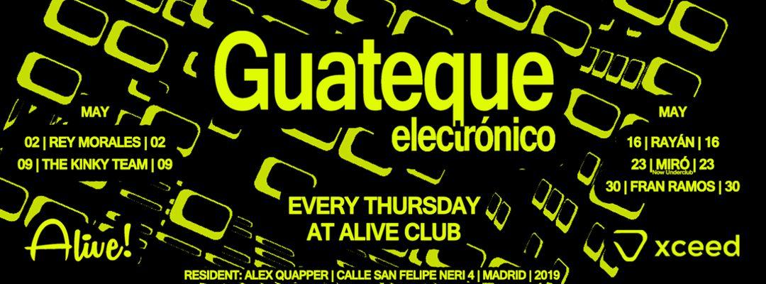 Cartel del evento Guateque thursdays