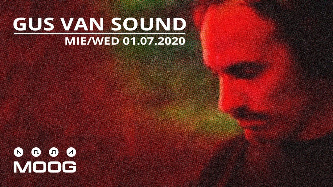 GUS VAN SOUND event cover