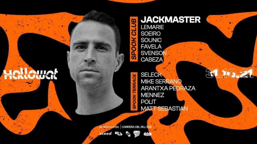 HalloWat JACKMASTER @ Spook Club event cover