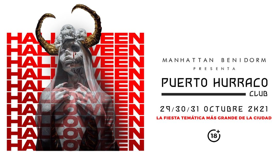 Halloween 2k21 || Domingo 31 || Lunes Festivo event cover
