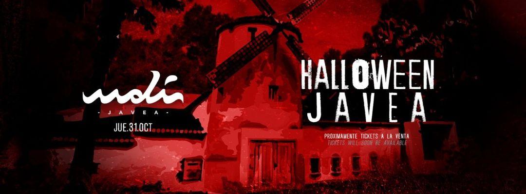 HALLOWEEN 31 de OCTUBRE MOLI JÁVEA-Eventplakat