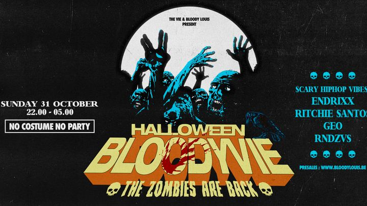 Cover for event: HALLOWEEN BLOODYVIE