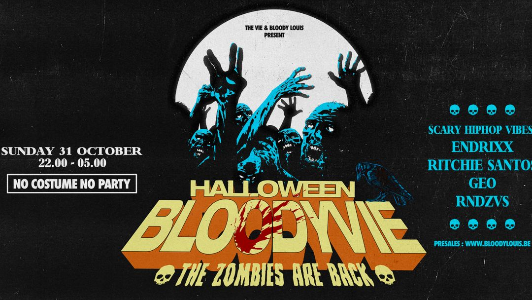 HALLOWEEN BLOODYVIE event cover