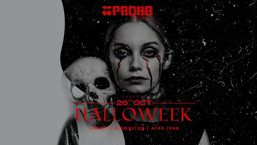 Halloween edition: MAD TUESDAYS at Pacha Barcelona event cover